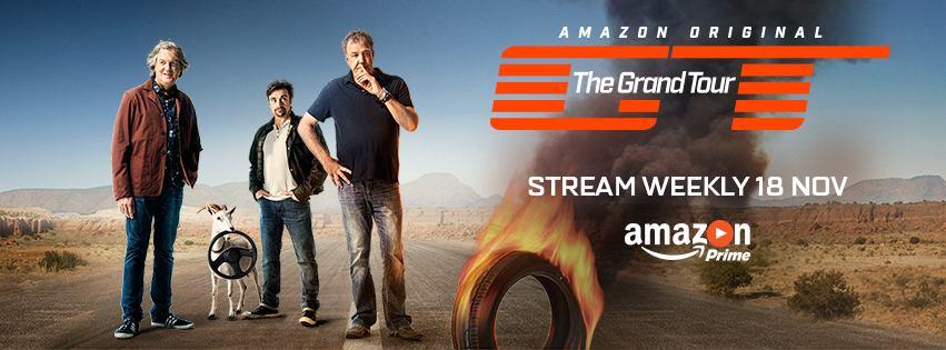 アマゾン「グランド・ツアー」で「トップギア」の3人が戻ってくるよ!