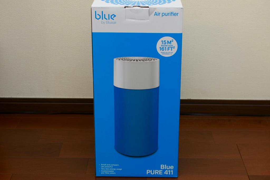 Blue Pure 411の外箱