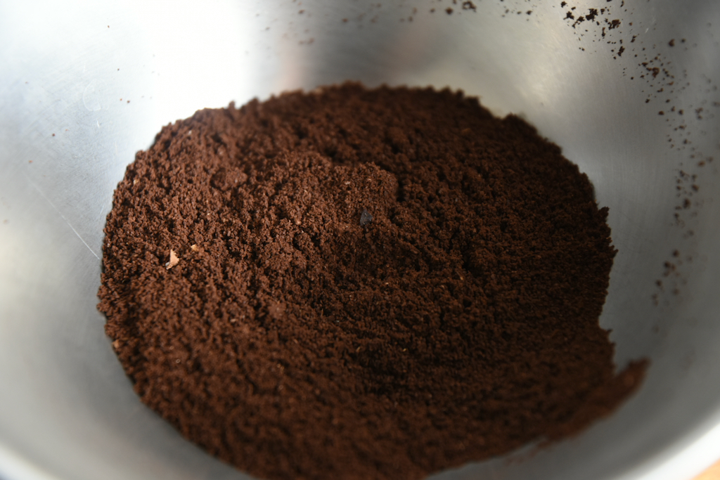 マキネッタ用の細挽き豆